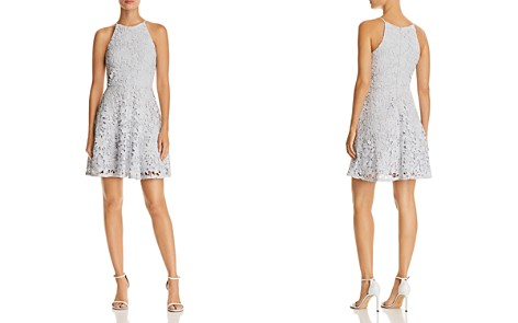 AQUA Floral Lace Fit-and-Flare Dress - 100% Exclusive - Bloomingdale's_2