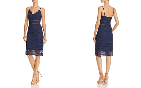 AQUA Scalloped Lace Sheath Dress - 100% Exclusive - Bloomingdale's_2