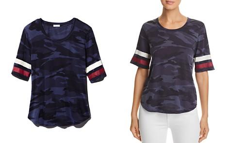 Splendid Striped-Sleeve Camo Tee - 100% Exclusive - Bloomingdale's_2