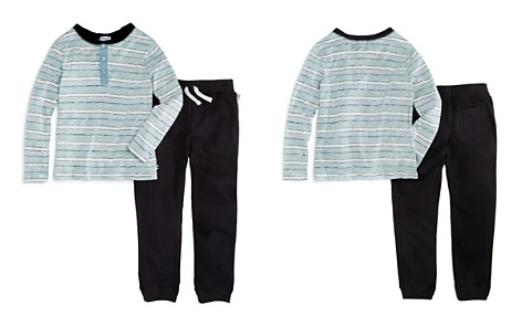 Splendid Boys' Striped Henley & Jogger Pants Set - Little Kid - Bloomingdale's_2