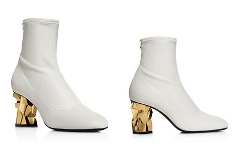 Giuseppe Zanotti Women's Stretch Leather Booties - Bloomingdale's_2