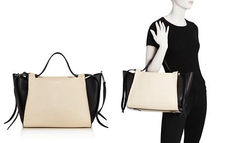 Elena Ghisellini Usonia Medium Color-Block Leather Satchel - Bloomingdale's_2