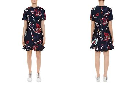 Ted Baker Colour by Numbers Carleea Printed Frill-Hem Dress - Bloomingdale's_2