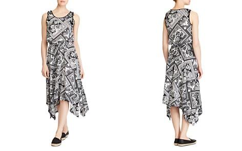 Lauren Ralph Lauren Handkerchief-Hem Midi Dress - Bloomingdale's_2
