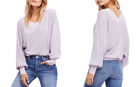 Free People South Side Thermal Sweater - Bloomingdale's_2