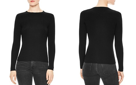 Sandro Temps Ribbed Sweater - Bloomingdale's_2