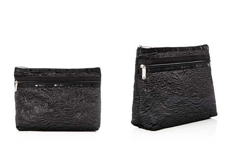 LeSportsac Taylor Large Floral-Embossed Cosmetics Case - Bloomingdale's_2