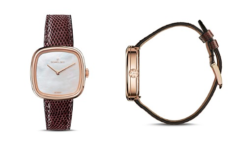 Gomelsky The Eppie Lizard Strap Watch, 32mm x 32mm - Bloomingdale's_2