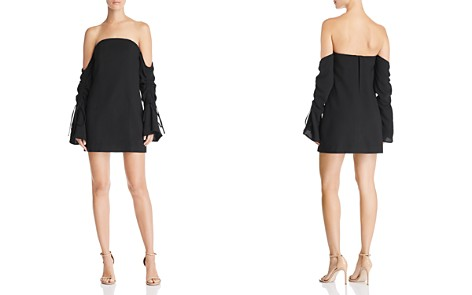 C/MEO Collective Right Kind of Madness Off-the-Shoulder Mini Dress - Bloomingdale's_2