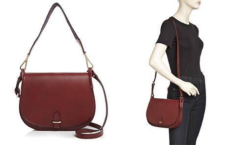 Celine Lefebure Emma Medium Leather Saddle Bag - 100% Exclusive - Bloomingdale's_2