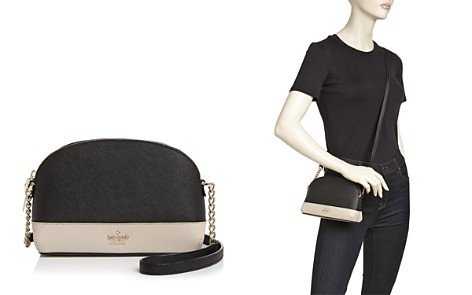 kate spade new york Cameron Street Hilli Small Color-Block Leather Crossbody - Bloomingdale's_2