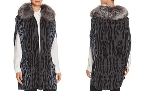 Kobi Halperin Colene Fur-Trimmed Sweater Vest - Bloomingdale's_2