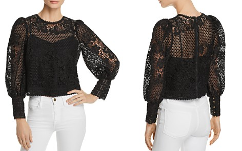 Joie Rodia Lace Top - Bloomingdale's_2