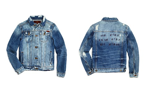7 For All Mankind Boys' All Kinds Embroidered Denim Jacket - Big Kid - Bloomingdale's_2