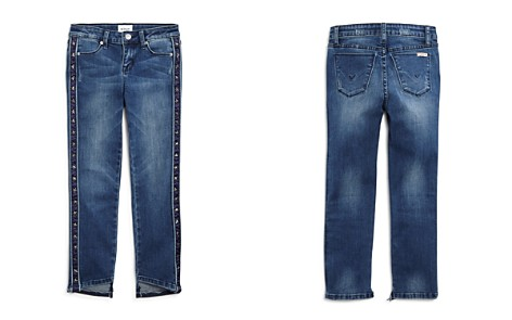 Hudson Girls' Star-Studded Step-Hem Ankle Jeans, Big Kid - 100% Exclusive - Bloomingdale's_2