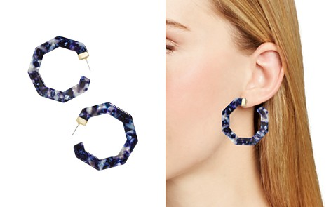 BAUBLEBAR Diem Geometric Resin Hoop Earrings - Bloomingdale's_2