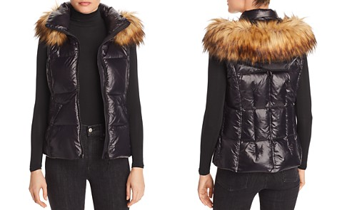 AQUA Faux Fur-Trim Puffer Vest - 100% Exclusive - Bloomingdale's_2