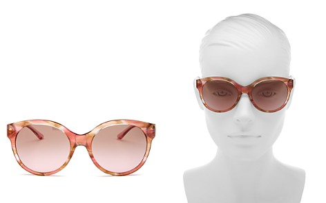 Tory Burch Women's Round Sunglasses, 55mm - Bloomingdale's_2