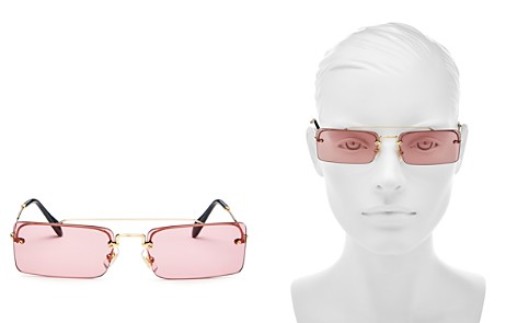 Miu Miu Women's Brow Bar Square Sunglasses, 58mm - Bloomingdale's_2