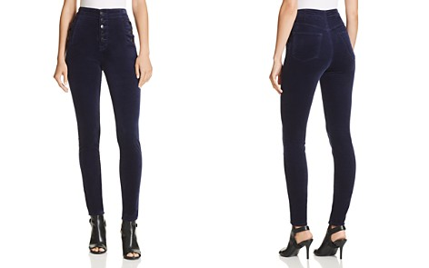 J Brand Natasha Super Skinny Velvet Jeans in Night Out - 100% Exclusive - Bloomingdale's_2