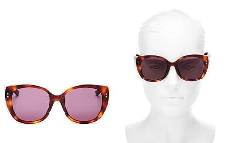 Dior Women's Lady Dior Studded Square Sunglasses, 55mm - Bloomingdale's_2