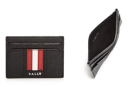 Bally Thar Embossed Leather Card Case - Bloomingdale's_2