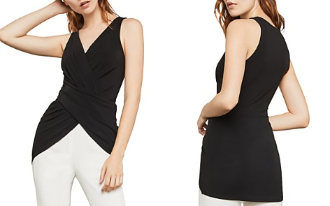 BCBGMAXAZRIA Crossover High/Low Tunic - Bloomingdale's_2