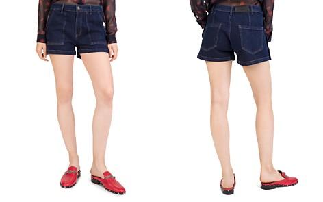 The Kooples Chiara Denim Mini Shorts - Bloomingdale's_2