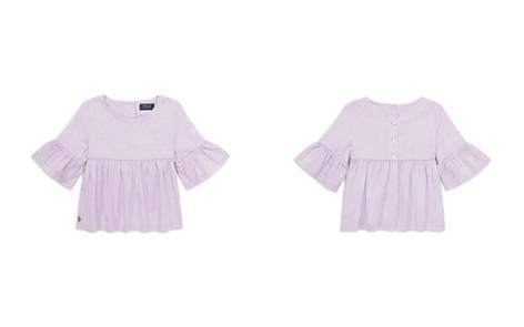 Polo Ralph Lauren Girls' Bell-Sleeve Top - Little Kid - Bloomingdale's_2