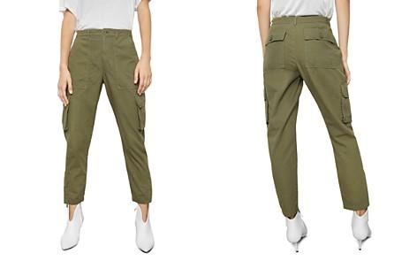 Anine Bing Cropped Cargo Pants - Bloomingdale's_2