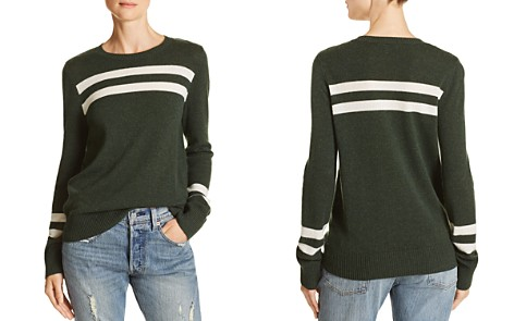 Rebecca Minkoff Marlowe Striped Merino Wool & Cashmere Sweater - Bloomingdale's_2