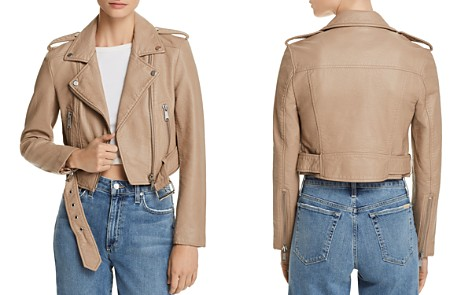 Pistola Tracy Cropped Faux Leather Moto Jacket - Bloomingdale's_2
