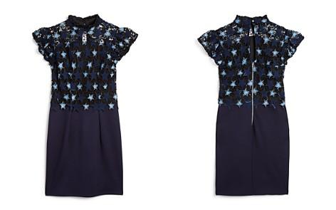Miss Behave Girls' Janine Contrast Crochet-Star Sheath Dress - Big Kid - Bloomingdale's_2