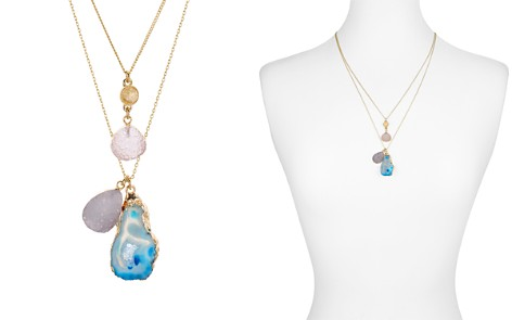 "AQUA Cluster Drop Pendant Necklace, 23"" - 100% Exclusive - Bloomingdale's_2"