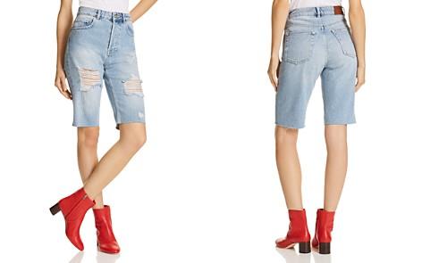 Anine Bing Gigi Denim Shorts - Bloomingdale's_2