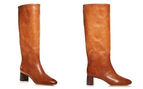 Loeffler Randall Women's Gia Pointed Toe Knee-High Leather Mid-Heel Boots - Bloomingdale's_2