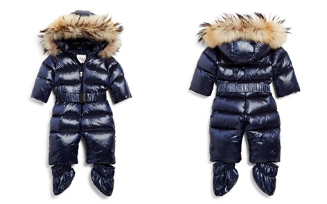 SAM. Unisex Snowbunny Snowsuit with Fur-Trimmed Hood - Baby - Bloomingdale's_2