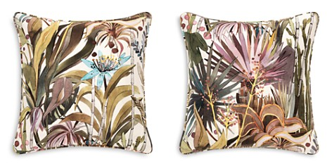 """Mitchell Gold Bob Williams Light Floral Linen Accent Pillow, 22"""" x 22"""" - Bloomingdale's_2"""