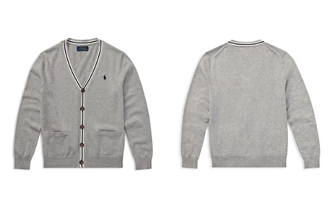Polo Ralph Lauren Boys' Stripe-Trim Cotton Cardigan - Big Kid - Bloomingdale's_2