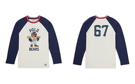 Polo Ralph Lauren Boys' Polo Bear Cotton Baseball Tee - Big Kid - Bloomingdale's_2