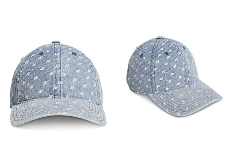 adidas Originals Denim Monogram Snapback Hat - Bloomingdale's_2