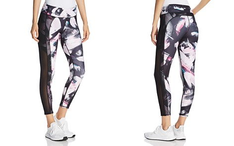 Marc New York Performance Mesh-Panel Printed Leggings - Bloomingdale's_2