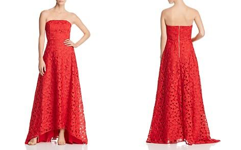 Keepsake Headlines Strapless Lace Gown - Bloomingdale's_2