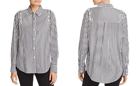 Current/Elliott The Loretta Striped Shirt - Bloomingdale's_2