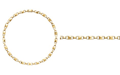 "Michael Kors Large Link Collar Necklace, 16"" - Bloomingdale's_2"