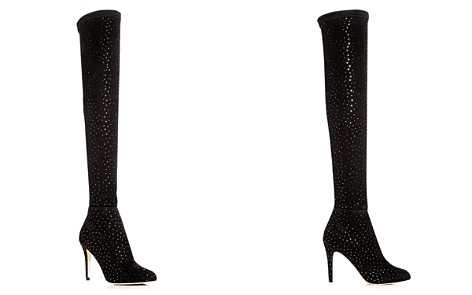 Jimmy Choo Women's Toni 90 Scattered Crystal Suede Over-the-Knee Boots - Bloomingdale's_2