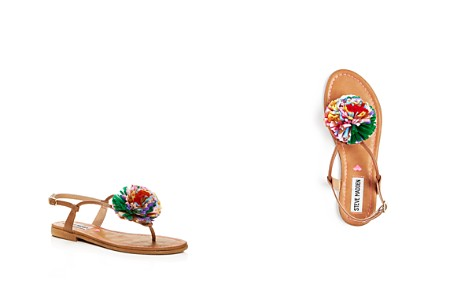 Steve Madden Girls' Pom-Pom Thong Sandals - Little Kid, Big Kid - Bloomingdale's_2