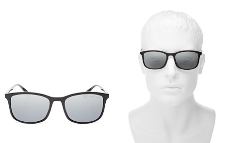 Prada Men's Linea Rossa Polarized Mirrored Square Sunglasses, 58mm - Bloomingdale's_2