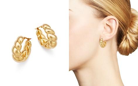 Bloomingdale's Twist Medium Hoop Earrings in 14K Yellow Gold - 100% Exclusive_2
