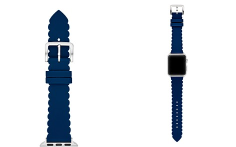 kate spade new york Blue Scalloped Apple Watch Strap, 38mm - Bloomingdale's_2